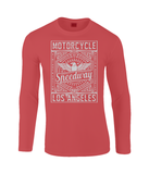 Motorcycle Speedway - Gildan SoftStyle® Long Sleeve T-Shirt