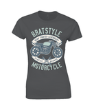 Brat Style – Ladies Premium Cotton T-Shirt - Biker T-Shirts UK