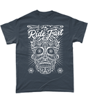 Ride Fast – Gildan Heavy Cotton T-Shirt - Biker T-Shirts UK