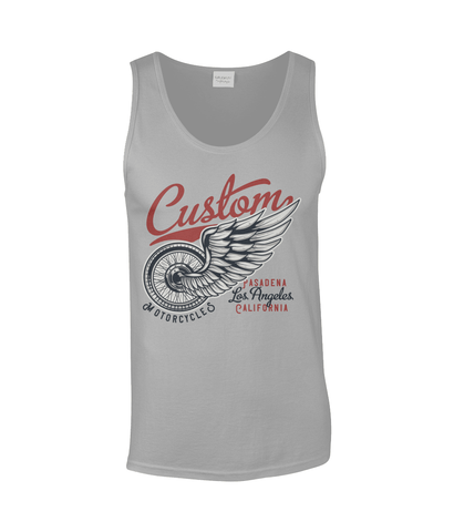 Custom – Gildan SoftStyle® Tank Top - Biker T-Shirts UK