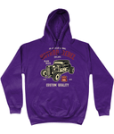 HotRod Rebel – AWDis College Hoodie - Biker T-Shirts UK