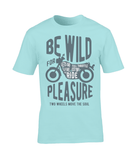 Be Wild - Gildan Premium Cotton T-Shirt - Biker T-Shirts UK