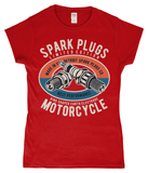 Spark Plugs – Gildan SoftStyle® Ladies Fitted Ringspun T-Shirt - Biker T-Shirts UK