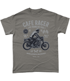 Cafe Racer v3 – Gildan Heavy Cotton T-Shirt - Biker T-Shirts UK