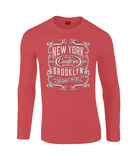 New York Motorcycle - Gildan SoftStyle® Long Sleeve T-Shirt