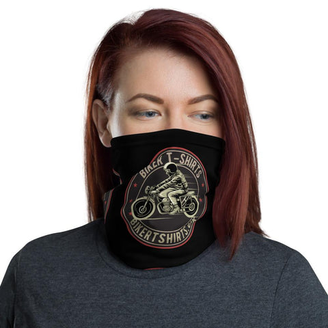 BIker T-Shirts UK F - Unisex Neck Gaiter - Biker T-Shirts UK