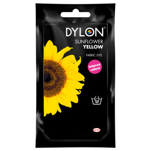 Dylon Hand Dye for Fabric in Sunflower Yellow