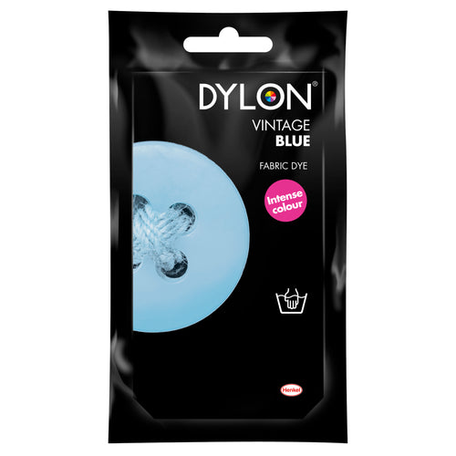 Dylon Hand Dye for Fabric in Vintage Blue