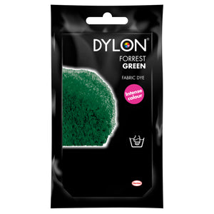 Dylon Hand Dye for Fabric in Forest Green