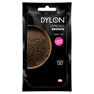 Dylon Hand Dye for Fabric in Espresso Brown