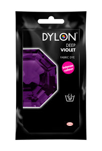 Dylon Hand Dye for Fabric in Deep Violet