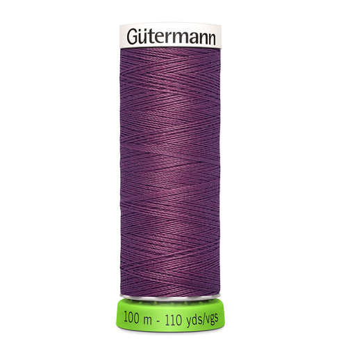 100 m Reel Gütermann Recycled Sew-All Thread in Grape Purple no. 259