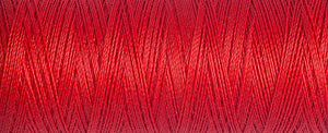 100 m Reel Gütermann Recycled Sew-All Thread in red, no. 364