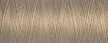 Load image into Gallery viewer, 100 m Reel Gütermann Recycled Sew-All Thread in Taupe no. 464