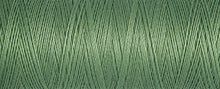 Load image into Gallery viewer, 100 m Reel Gütermann Recycled Sew-All Thread in Minty Pea Green no. 821