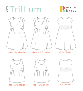 Made by Rae: Trillium Dress & Top