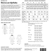 Load image into Gallery viewer, Folkwear: Moroccan Djellaba