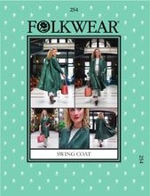 Load image into Gallery viewer, Folkwear: Swing Coat 254