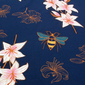 Organic Cotton French Terry Sweatshirt Fabric 'Lily'