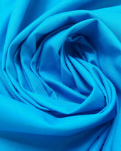 Load image into Gallery viewer, 60 cm Piece Quilting Cotton in Aqua Blue