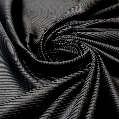 Chunky Cotton Jumbo Corduroy in Jet Black