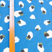 Load image into Gallery viewer, Lady McElroy Marlie-Care Cotton Lawn with 'Moon Gemstones' Print in Blue