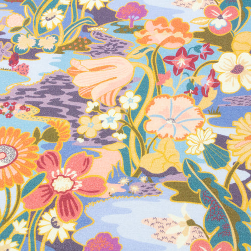 Liberty SS21 Collection: Norfolk Jersey 'Sunshine Meadow'