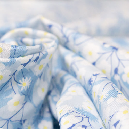 Liberty Tana Lawn 'Mitsi' in Pale Blue