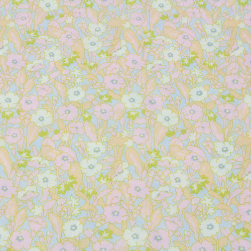 Liberty Fabrics SS21 Collection: Capricorn Ripstop 'Primrose Path' in Pastels