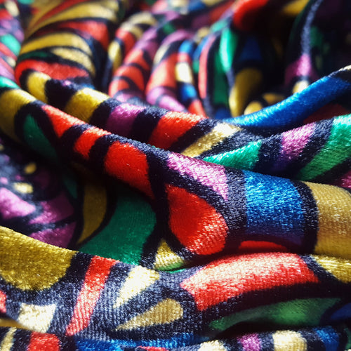 Liberty Silk and Viscose Velvet 'Jewel'