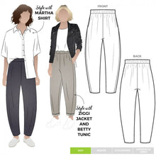 Load image into Gallery viewer, Style Arc: Bob Woven Pant