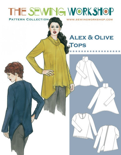 The Sewing Workshop: Alex and Olive Tops