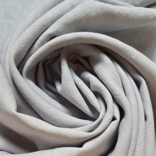 Load image into Gallery viewer, 90 cm Piece Washed Linen in Light Grey