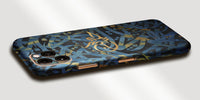 Arabic Calligraphy by Zaman Decal Skin With Personalised Name Phone Wrap - Blue / Gold