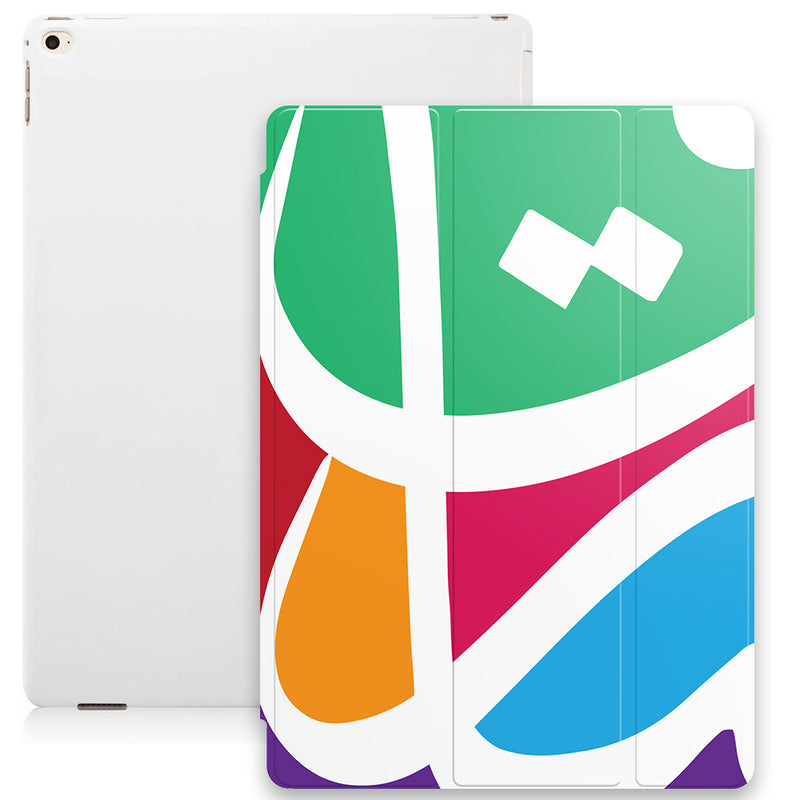 Vibrant Arabic Calligraphy by Asad Smart Tablet Case