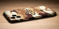 Camoflague Design Decal Skin With Personalised Arabic Name Phone Wrap - Desert