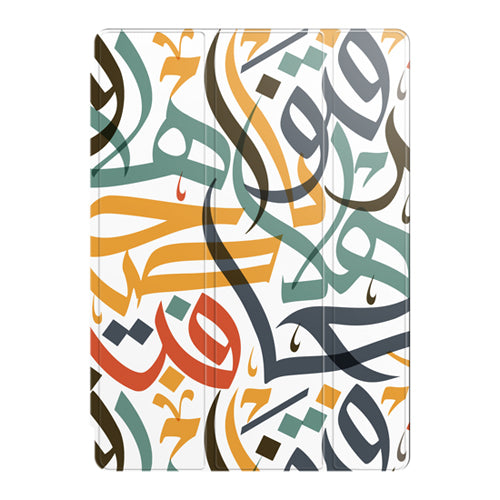 Multicolured Arabic Calligraphy Smart Case by Asad