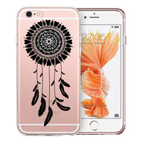 Dreamcatcher Mandala Transparent Clear Designer Case By Simran - Zing Cases  - 1