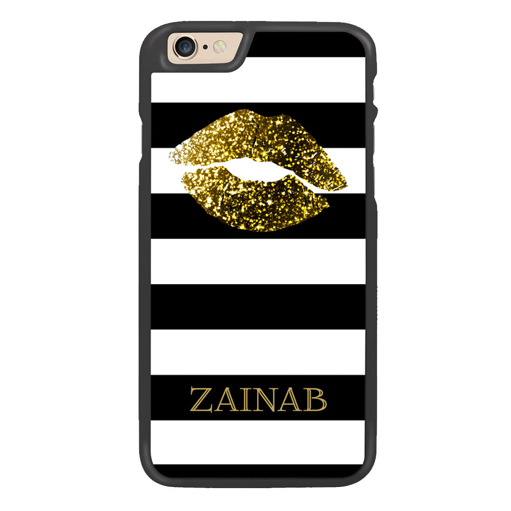 Golden Kiss Personalized Arabic Calligraphy Text Designer Phone Case - Zing Cases  - 2