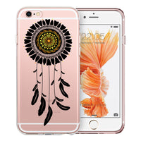 Dreamcatcher Mandala Transparent Clear Designer Case By Simran - Zing Cases  - 2