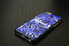 Blue Watercolour Arabic Calligraphy by Zaman Arts with Personalized Text Designer Phone Case (Arabic Only) - Zing Cases  - 2