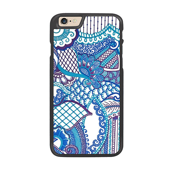 Parisian Blues Designer Hard Back Case by Simran - Zing Cases