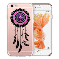Dreamcatcher Mandala Transparent Clear Designer Case By Simran - Zing Cases  - 3