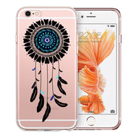 Dreamcatcher Mandala Transparent Clear Designer Case By Simran - Zing Cases  - 5