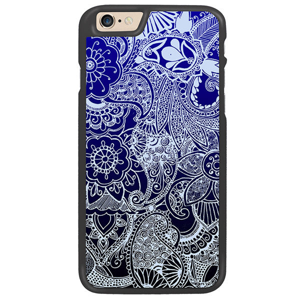 Winter Blues Designer Hard Back Case by Simran - Zing Cases