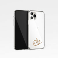 Signature Calligraphy Personalised Name Clear Phone Case