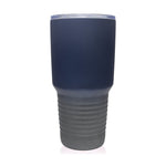30oz Tumbler | Two Tone Matte Blue/Gray