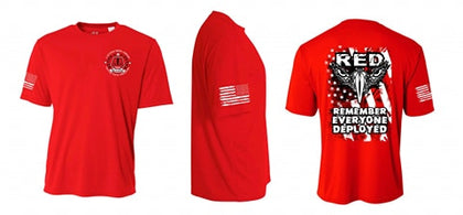 Short Sleeve T-Shirt Remember Everyone Deployed