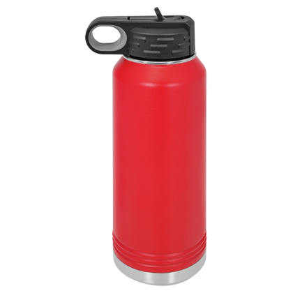 32oz Water Bottle | Red