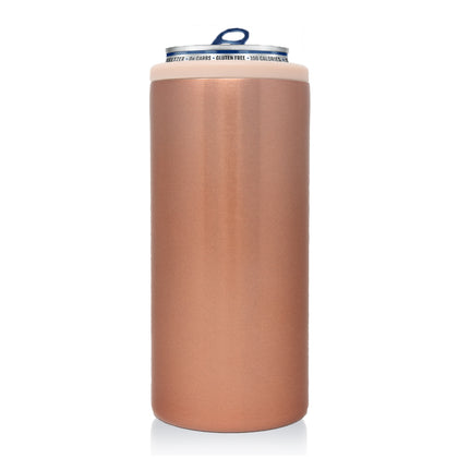 12oz Slim Can Koozie | Rose Gold